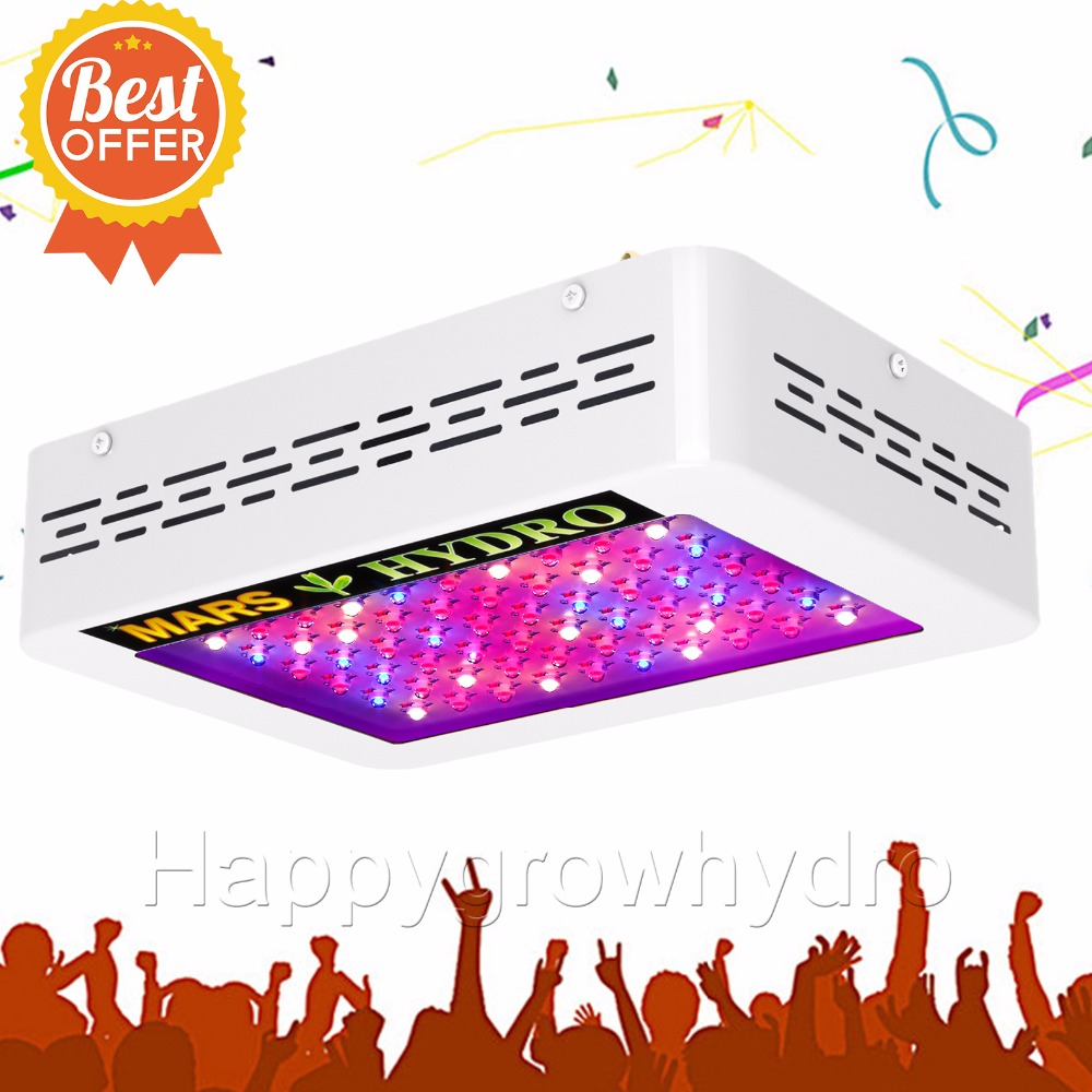 все цены на  Mars Hydro led Grow Light 300W Full Spectrum For indoor Medical plants Grow  онлайн