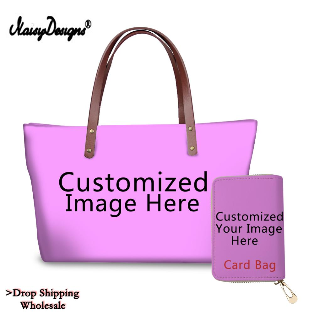 Card-Bags Customized Large Wholesale Fashion Women Ladies with Own-Logo Hangbag Bolsos