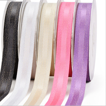 Gold Purl Grosgrain Edge Satin Ribbon For 3/8