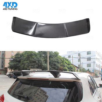 W176 Carbon Top Spoiler Roof Trunk Wing R Style For Mercedes A45 AMG A class A180 A200 A250 A260 2013-2015 2016 2017 2018 2019 image