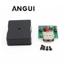 5V 2A солнечных панелей Напряжение Контроллер заряда с Светодиодный индикатор USB зарядное устройство регулятор постоянного тока в переменный преобразователь постоянного тока 6 V-20 V вход 5Vdc