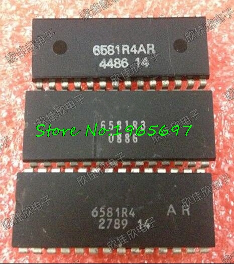 1pcs/lot MOS6581 6851COM 6581R3 6581R4AR 6581 DIP-28 In Stock