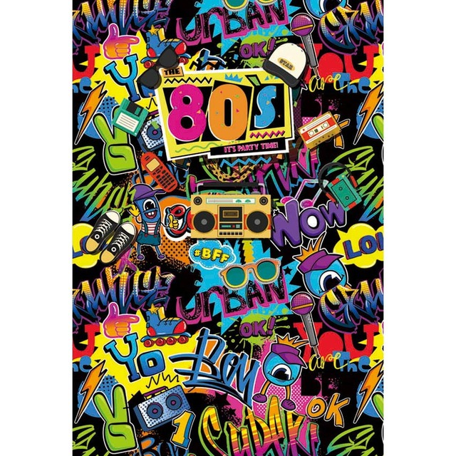 Photography Backdrops 80 S Background For Graffiti Wall