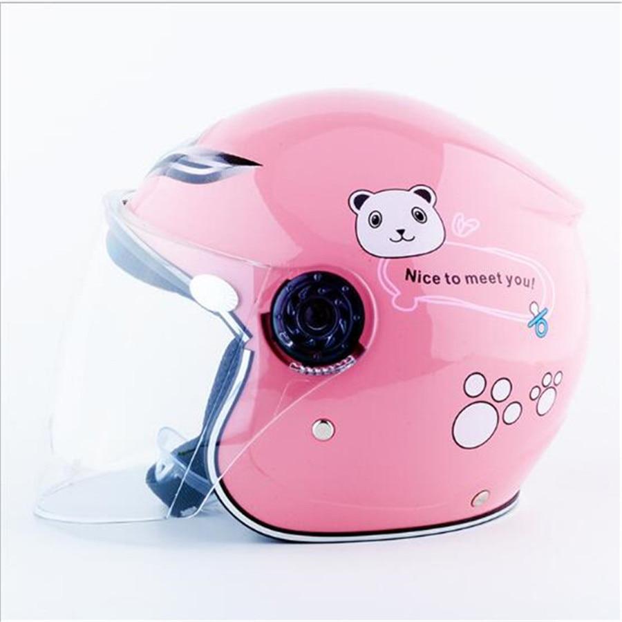 3-9 Ano De Crianças Capacete Moto Capacete de segurança confortável quente