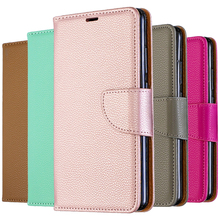 Solid Color PU Leather Flip Case on For Redmi K20 Mobile Phone Xiomi Note 7 7A 6A 6 Pro Wallet Cover bag Coque<