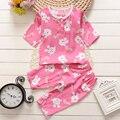 Baby clothing set pijamas kids Pajamas for girls Children summer pajamas  Cotton pajamas  30#