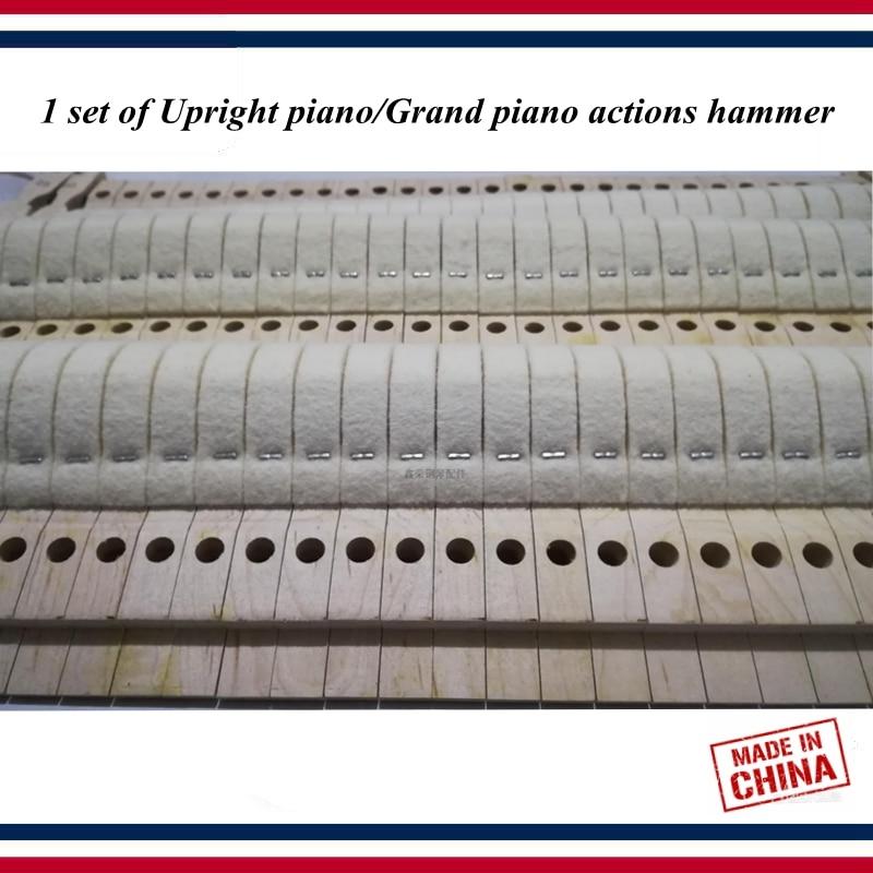 Piano Tuning Tools Accessories - 1 Set Of Upright Piano/Grand Piano Actions Hammer - Piano  Parts