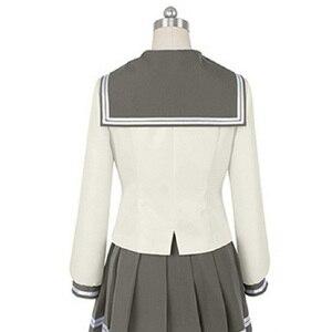 Image 5 - Lovelive Sunshine Aqours Tsushima Yoshiko Cosplay Kostuum Japanse Anime Liefde Live Meisje Sailor School Uniform Pak Kleren