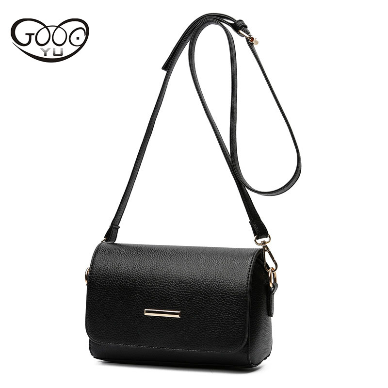 The new fashion Korean version of the simple ladies shoulder bag cross section square multi-color classic wild practical small s