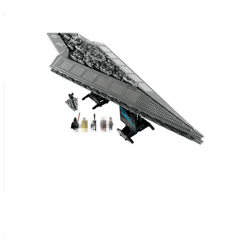 Star 05028 LEPIN Wars Building Blocks Bricks Execytor Toys For Boy Super Star Present Destroyer Model 10221 Educational Gifts 05028 star wars execytor super star destroyer model building kit mini block brick toy gift compatible 75055 tos lepin