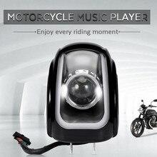 MT472 2 pcs Motocicleta MP3 Moto Bluetooth Speaker Music Player Rádio FM Estéreo Baixo Amplificador de Áudio Jogador À Prova D' Água