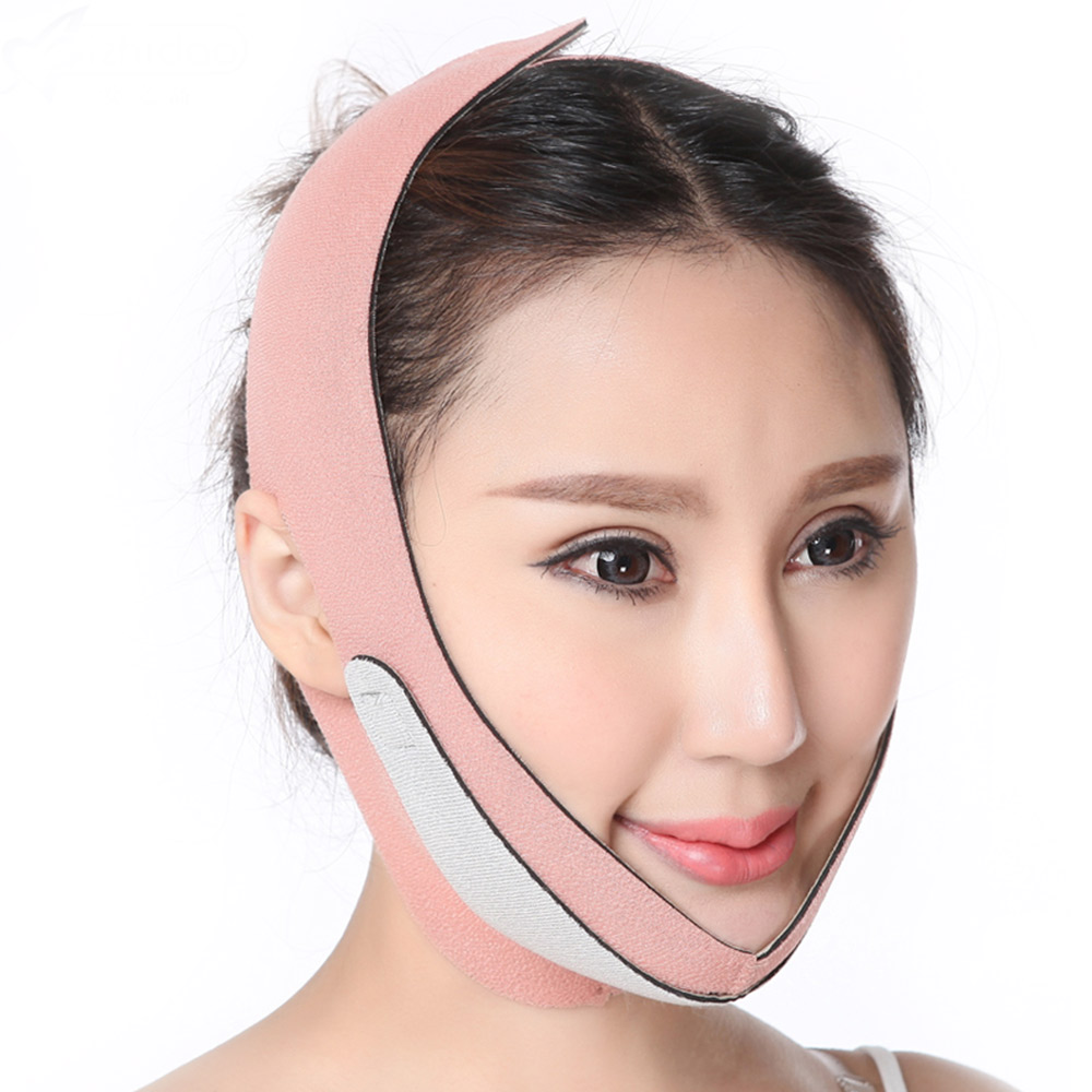 Breathable Elastic Face Lifting belt mask face Slimmer facial slimming bandage v face Shaper anti wrickle facial beauty tools face slimmer tool