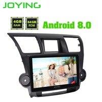 IPS Joying 10.1 Android 8.0 Car radio Stereo Audio Head Unit GPS Navigation For Toyota Highlander 2009 2014 Multimedia Player