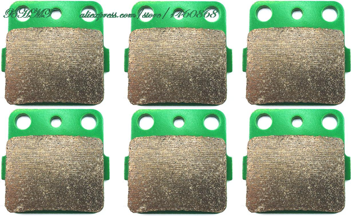 Brake Pad Set For Yamaha Atv Raptor Yfm350 Yfm 350 2004 2005 2006 2007 2008 2009 2010 / Yfm660 660 2001 2002 2003 2004 2005