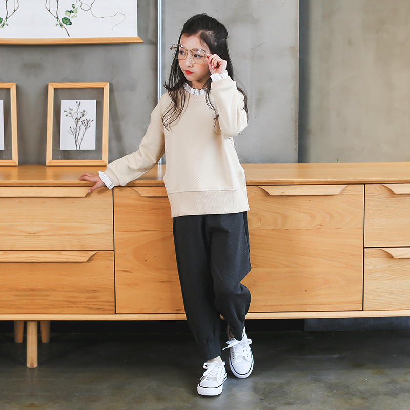 Teenagers Clothes Set 5 6 7 8 9 10 11 12 13 Years Baby Girls Clothing Pring Long Sleeve Shirt + Pant 2pcs Vetement Enfant Fille цена 2017