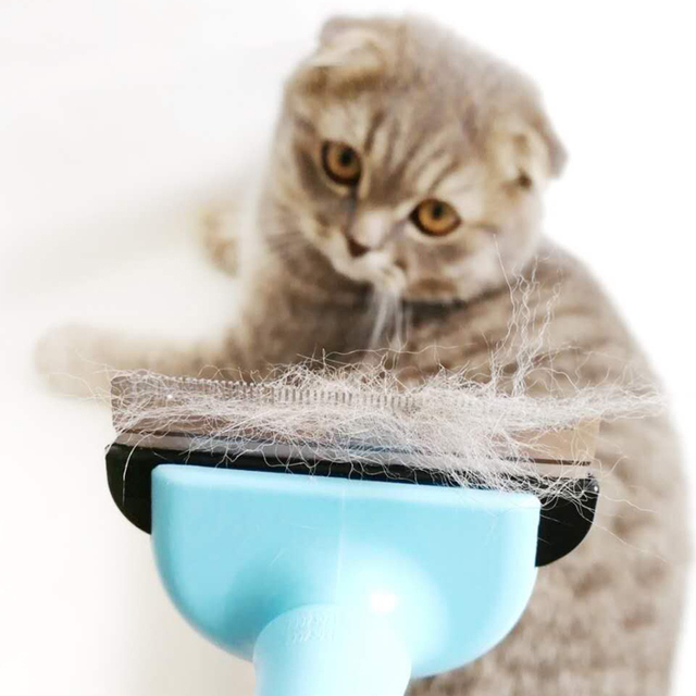 Comb Pet Hair Remover Cat Brush Grooming Tool Detachable Clipper Attachment Pet Trimmer Comb for Cat Pet Supply