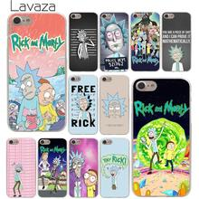 Lavaza Rick and Morty Season Hard Phone Case for iPhone XR X XS 11 Pro Max 10 7 8 6 6S 5 5S SE 4 4S Cover