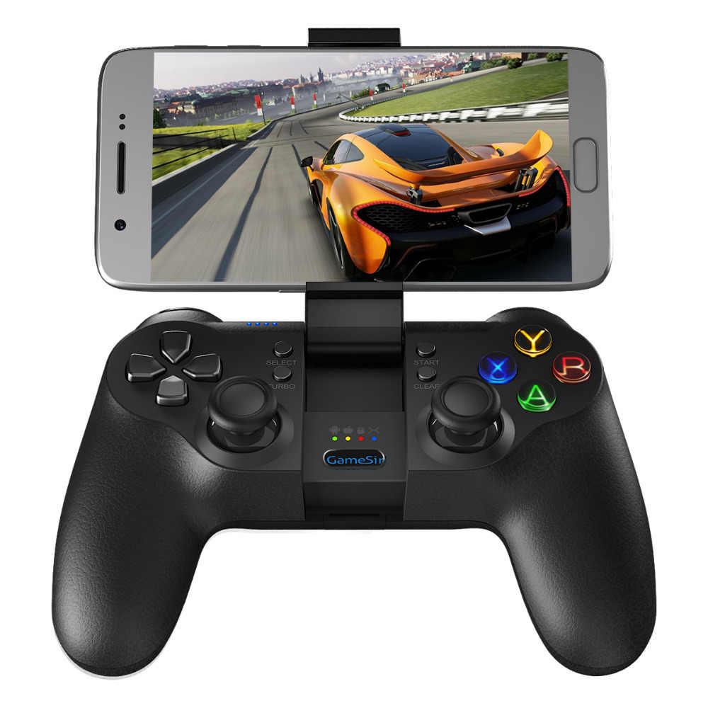 GameSir T1s Bluetooth Беспроводной джойстик для Android/Windows PC/Очки виртуальной реальности VR/ТВ коробка/PS3 лучше всего подходит для Рождественский подарок