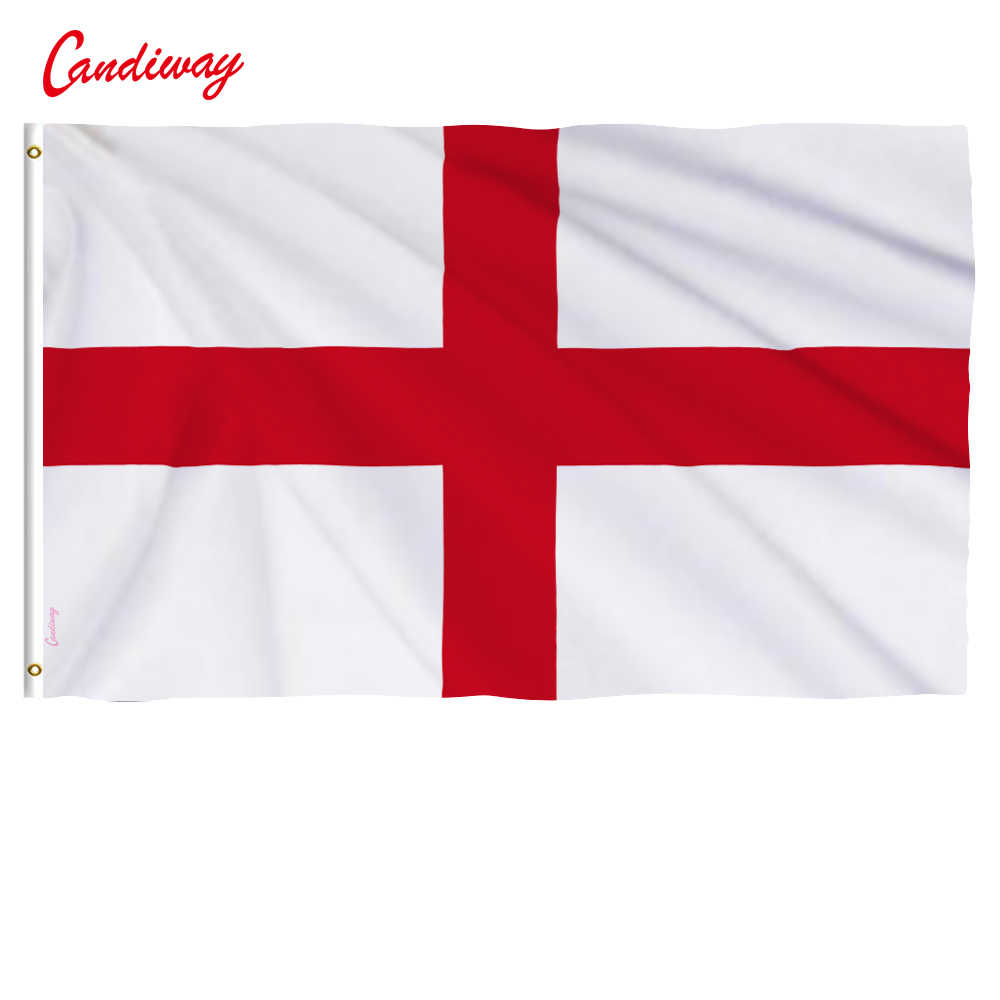 Flag Of England 3x5 Ft St George S Cross Red White English