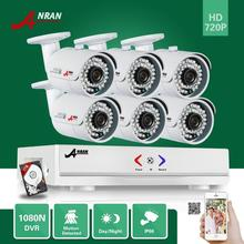 ANRAN HD 1080N HDMI 8-КАНАЛЬНЫЙ АХД DVR 720 P 1800TVL 36 ИК крытый Открытый IP66 Водонепроницаемый Камеры Системы Домашней Безопасности С 1 ТБ HDD