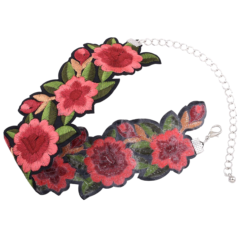 HTB1zX..PpXXXXbpXpXXq6xXFXXXM Tattoo Style Embroidered Flower Fashion Choker For Women - 2 Styles