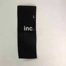 Custom Garment  Label Clothing Size Woven