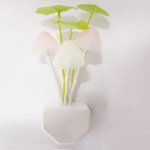 Image 5 - Автоматический яркий грибной светильник Dark, новинка, датчик штепсельной вилки EU & US 110 В 220 В, 3 светодиодный цветной грибной светильник, светодиодный ночник