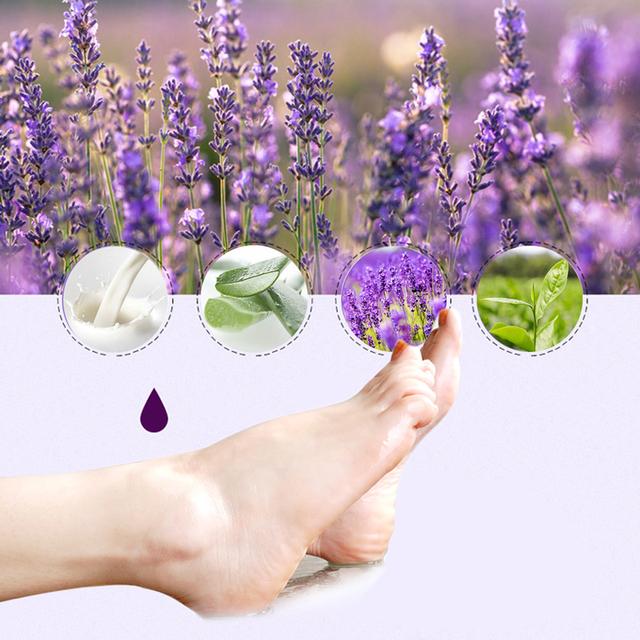 6pc=3pair Exfoliating Foot Mask Pedicure Socks Exfoliation for Feet Mask Remove Dead Skin Heels Foot Peeling Mask for Legs efero