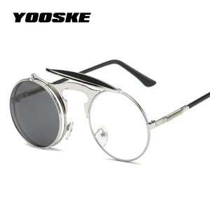 YOOSKE Steampunk Sunglasses Ro
