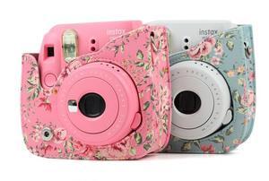 Image 3 - Fujifilm Instax Mini Camera Cover Pu Leather Cover Met Schouderband Voor Instax Mini 9 Mini 8 Mini 8 + instant Camera