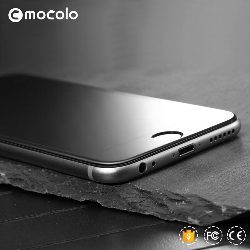 İPhone 7 üçün MOCOLO 9H 0.26mm 2.5D əyri kənarlı örtülmüş - Cib telefonu aksesuarları və hissələri - Fotoqrafiya 2