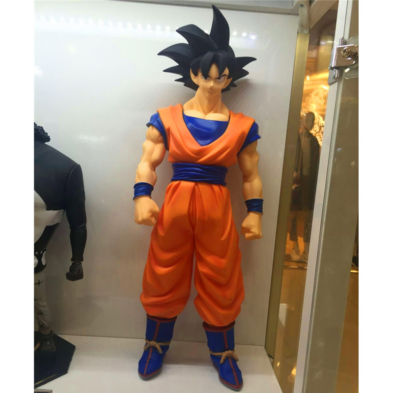 Dragon Ball Figure Dragon Ball Z Son Goku Action Figure Collectible Model Toy 44cm 1 pcs 42 cm japanese anime dragon ball z figurine goku super saiya son goku model collectible action figure decoration boys toy