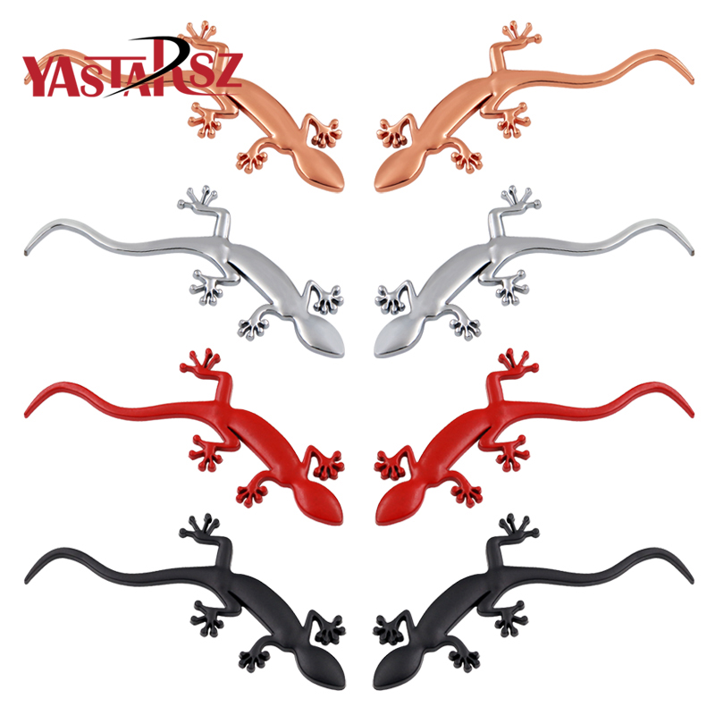 Gecko Lizard Quattero 3D Metal Ho Car Auto Motorcycle Logo Emblem Badge Car Styling Stickers Automobiles Car-Styling Accessories thumbnail