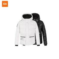 Оригинальный Xiaomi Uleemark пальто DuPont бумага гусиный пуховик 90% белый наполнитель для мужчин и женщин