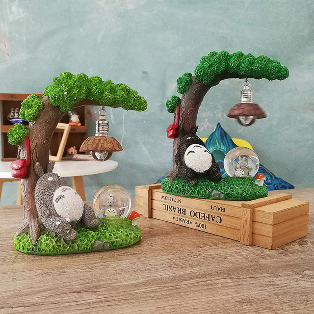 My Neighbor Totoro – Home Decor Night Lamp with Crystal Ball – 2 Styles Available