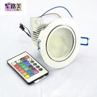 AC85V-265V 10 Watt Farbwechsel RGB LED Remote Einbauschrank Lampe Deckenstrahler Unten Licht bunte led downlight led-strahler