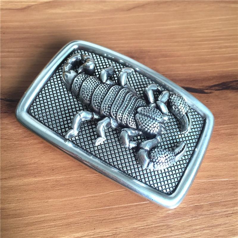TOP Quality 3D Scorpion Belt Buckle Alloy Cowboy Belt Buckle For Leather Belt Men AK0019