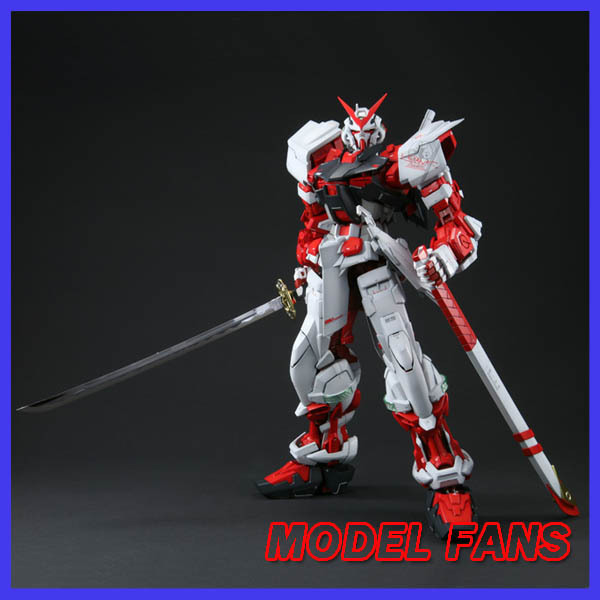 MODEL FANS DABAN Gundam Model PG 1/60 Red heresy SEED DESTINY Self assambled robot  350mm Toys For Boys RARE Gundam model fans m3 model pg 1 60 red heresy gundam special large sword backpack gift water paste free shipping