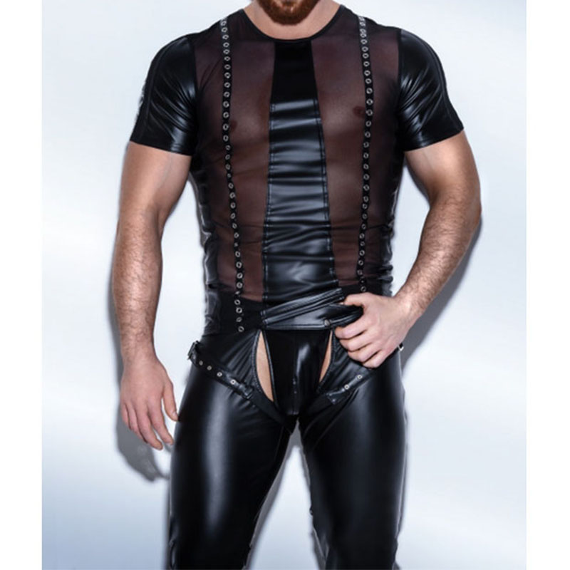 Gay man clubwear