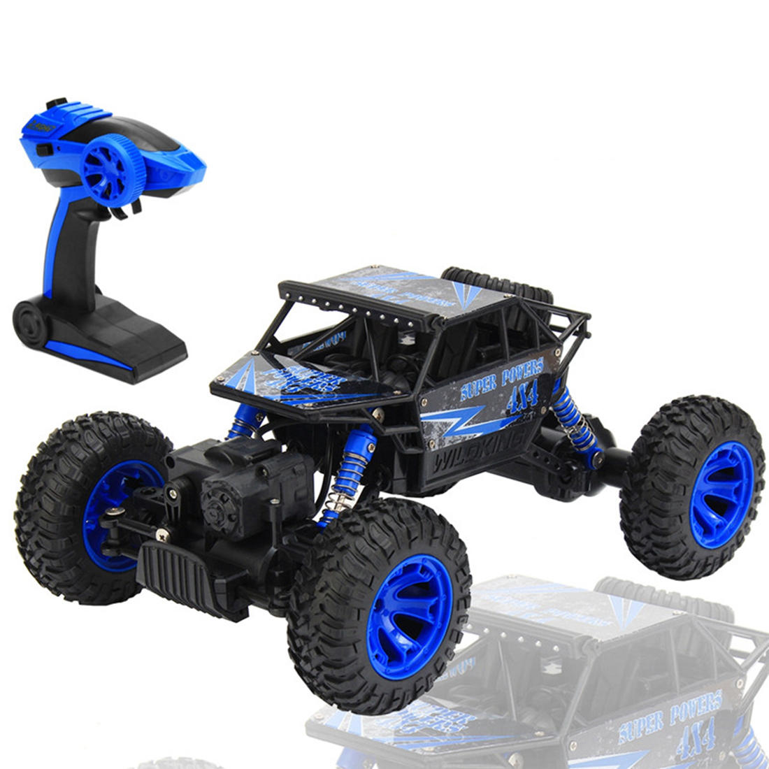 2.4GHz 1:18 Scale 4x4 Rock Crawlers Car RC Rock Crawler
