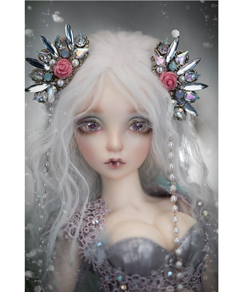 Русалка fairyland 1/4 BD куклы светодиодный модель Reborn для мальчиков и девочек глаза высокого качества игрушки макияж Магазин Смолы