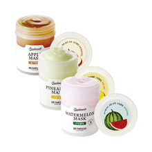 SKINFOOD Freshmade Mask 90ml Korean Fresh fruit Face Mask Face Care Moisturizing whitening Soothing Facial Mask 6 kinds 1pcs