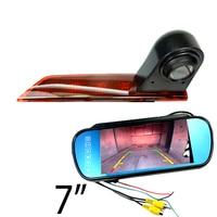 CCD HD car Brake Light Rear view camera For Ford Transit Custom 2012~2015 van Brke light camera & car monitor kit