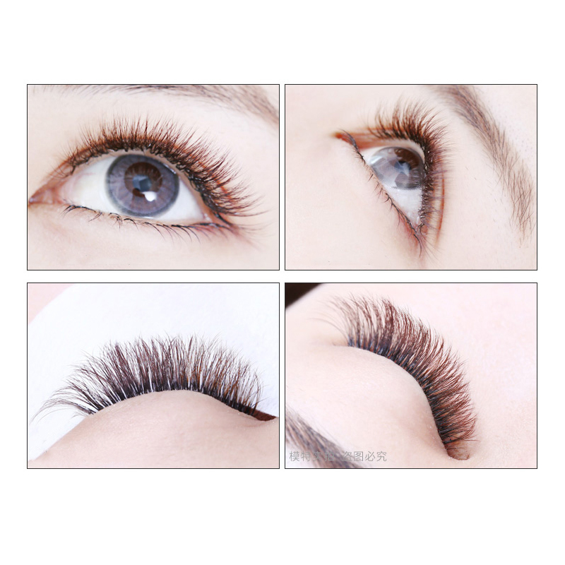 23b6a6f9bff QSTY 0.07/0.10 B/C False Eyelashes Individual Eyelash Extension Color Fake  Eye Lashes Mink Eyelash Extension 100% real Dark Brow-in False Eyelashes  from ...