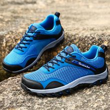 2017 Spring Summer New Men and Women's Breathable Hiking Shoes Outdoor Anti-skidding Mountain Trekking Shoes Sports Sneakers