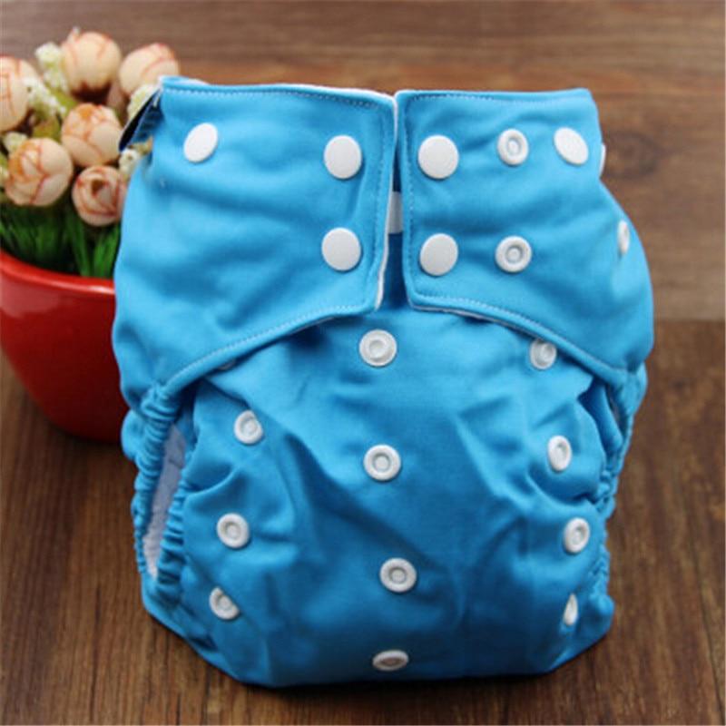 Wiederverwendbare Baby Stoffwindel Volltonfarbe Babywindel Einheitsgröße Einstellbar Verfügbar Stoffwindeln Funktioneller Einsatz Neugeborenes