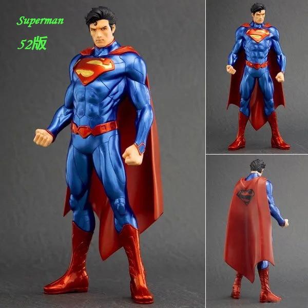 18cm Kotobukiya Superman figure <font><b>new</b></font> <font><b>52</b></font> <font><b>Justice</b></font> <font><b>League</b></font> batman <font><b>wonder</b></font> <font><b>woman</b></font> <font><b>DC</b></font> Comics Marvel Avengers PVC <font><b>collectible</b></font> Model Toy