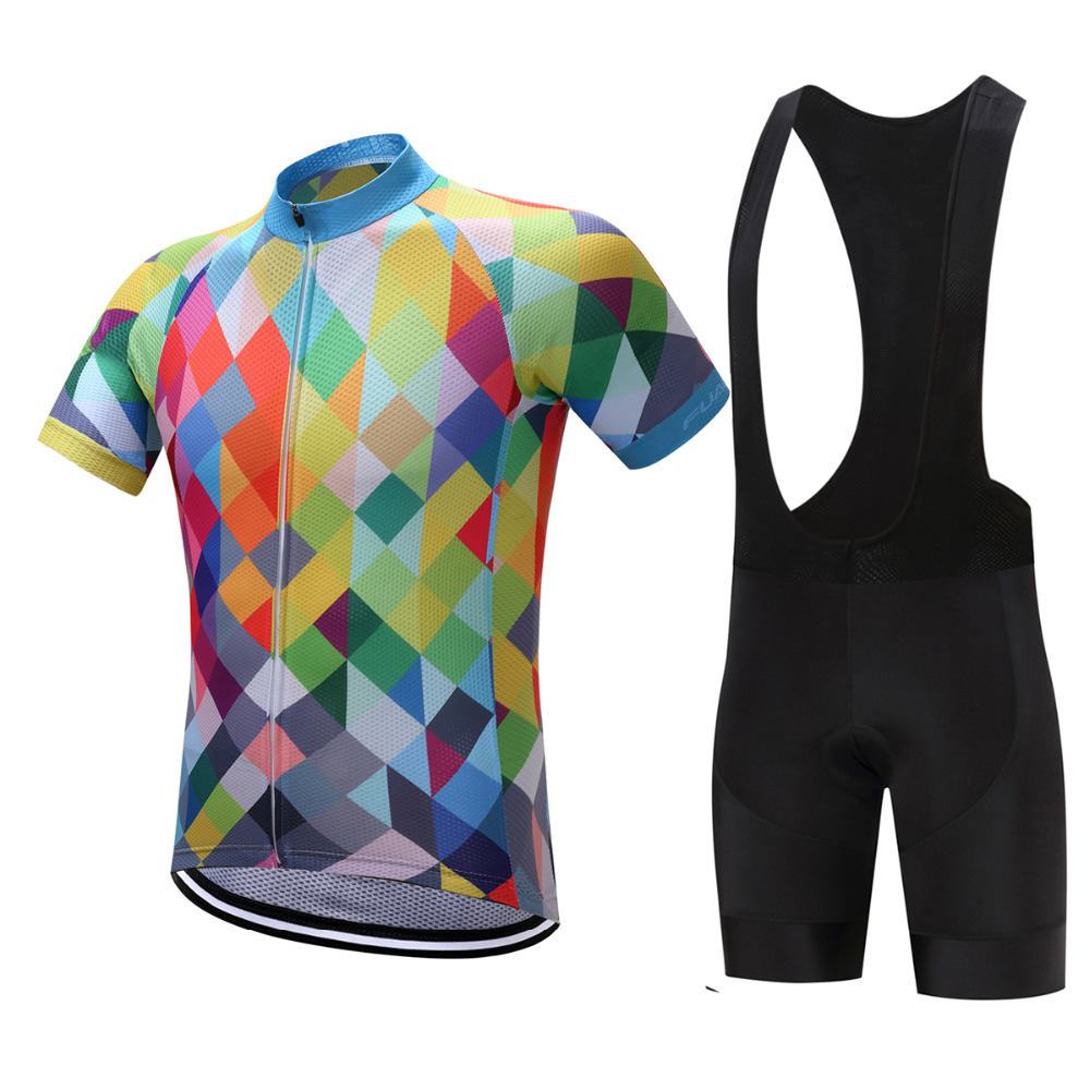 FUALRNY 2018 Quick Dry  Bicycle Bike Jacket Cycling Short sleeve Jerseys Sportswear Roupa Ciclismo Shorts Pants BIB 9D GEL PAD rockbros titanium ti pedal spindle axle quick release for brompton folding bike bicycle bike parts