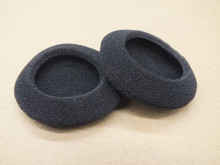 High Quality Newest Black 5 pairs/Bag 50mm 2 Headset Headphone Soft Foam Sponge Ear Pads Cover Earphone Accessories