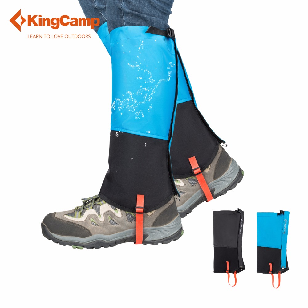 Kingcamp Gaiter Waterproof Breathable High Gaiter Durable Camping Outdoor Superior Protect Against Snow Rain Mud Wind Sand